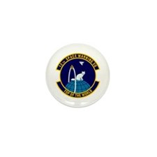 12th Space Warning Mini Button (100 pack)