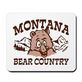 Montana Bear Country Mousepad