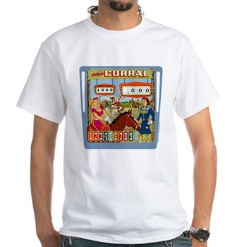 "Gottlieb® ""Corral"" White T-Shirt"