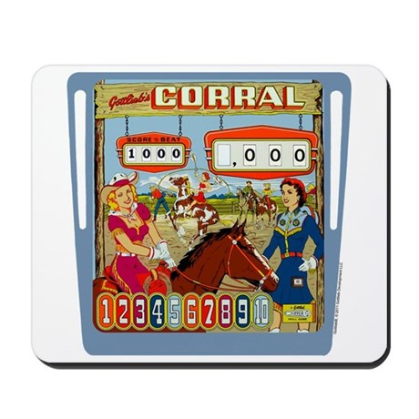 "Gottlieb® ""Corral"" Mousepad"