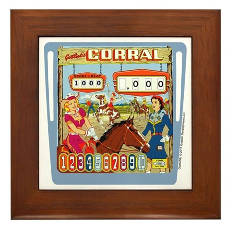 "Gottlieb® ""Corral"" Framed Tile"