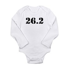 26.2 - Marathon Long Sleeve Infant Bodysuit