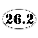 26.2 - Marathon Decal