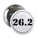 "26.2 - Marathon 2.25"" Button (10 pack)"