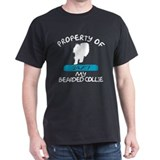 Bearded Collie Black T-Shirt