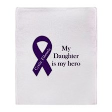 Daughter CF Hero Throw Blanket