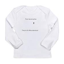 Apostrophe Misunderstood Long Sleeve Infant T-Shir