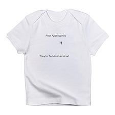 Apostrophe Misunderstood Infant T-Shirt