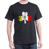 Columbus (OH) Irish Black T-Shirt