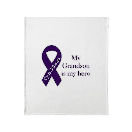 Grandson CF Hero Throw Blanket