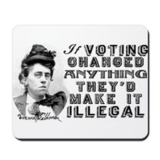 Emma Goldman Voting Mousepad