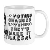 Emma Goldman Voting Small Mugs