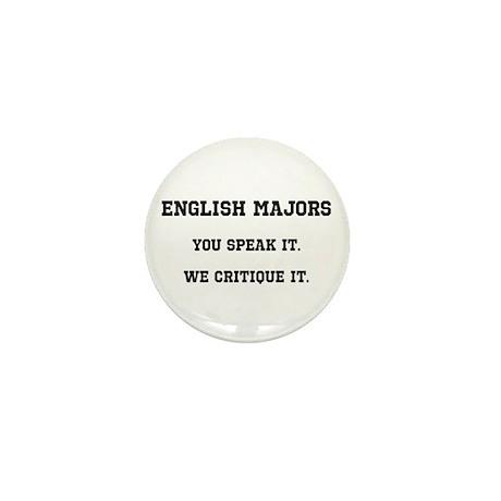 You Speak, We Critique Mini Button (10 pack)