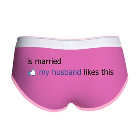 FB Status Married Too Women's Boy Brief