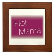 Unique Hot mama Framed Tile
