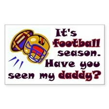 Funny Football Bumper Stickers