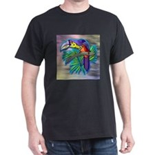 Toucan Black T-Shirt