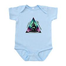I Love Gymnastics Triangle #2 Infant Bodysuit