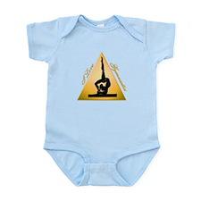 I Love Gymnastics Triangle #6 Infant Bodysuit