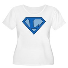 Super Blue L T-Shirt