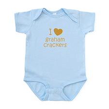 I love graham crackers Infant Bodysuit