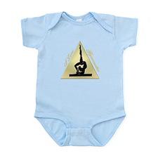 I Love Gymnastics triangle #8 Infant Bodysuit