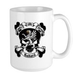 Ballard Family Crest Skull Coffee Mug