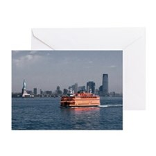 Staten Island Ferry Greeting Cards (Pk of 10)