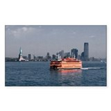 Staten Island Ferry Decal