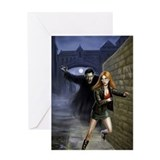 Kiss Me Deadly Greeting Card