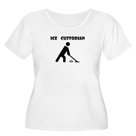 Ice Custodian Women's Plus Size Scoop Neck T-Shirt