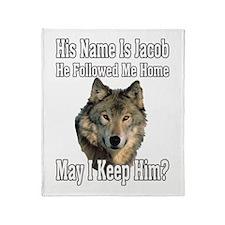 His name is Jacob Throw Blanket