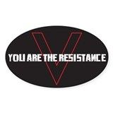 V: You Are The Resistance Decal