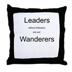 Leaders - Wanderers Throw Pillow