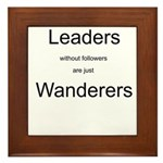 Leaders - Wanderers Framed Tile