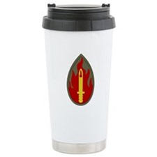 Blood and Fire Travel Mug
