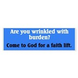 Faith Lift Bumper Bumper Sticker