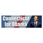 Connecticut for Obama bumper sticker