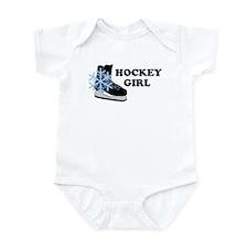 Hockey Girl Ice Skate Infant Creeper