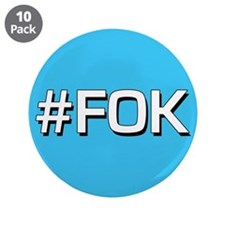 "#FOK (Friend Of Keith) 3.5"" Button (10 pack)"