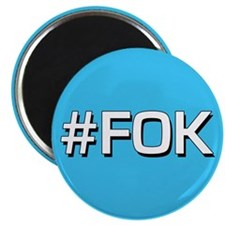 "#FOK (Friend Of Keith) 2.25"" Magnet (10 pack)"