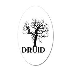 Druid 20x12 Oval Wall Decal