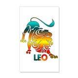 Rainbow Astrology Animal 38.5 x 24.5 Wall Peel