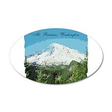 Mt. Rainier #2 38.5 x 24.5 Oval Wall Peel