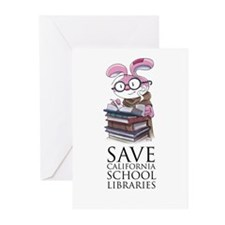 Save CA School Libraries Greeting Cards (Pk of 20)