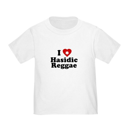 I Love [heart] Hasidic Reggae Toddler T-Shi