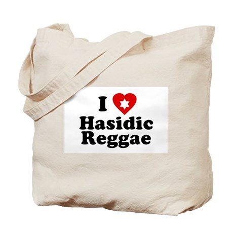 I Love [heart] Hasidic Reggae Tote Bag