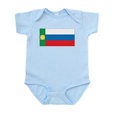Khakassia Flag Infant Bodysuit