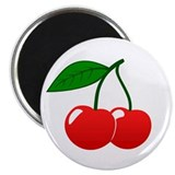 &quot;Cherries&quot; Magnet