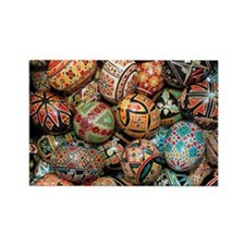 Pysanky Group 3 Rectangle Magnet